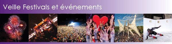 Veille festivals et événements
